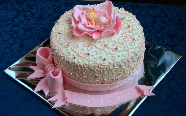 заказать торт на день рождение киев, торты на заказ Киев, Оболонь, Приорка, Виноградарь, фото праздничного торта на день рождения девочке, для новорожденных